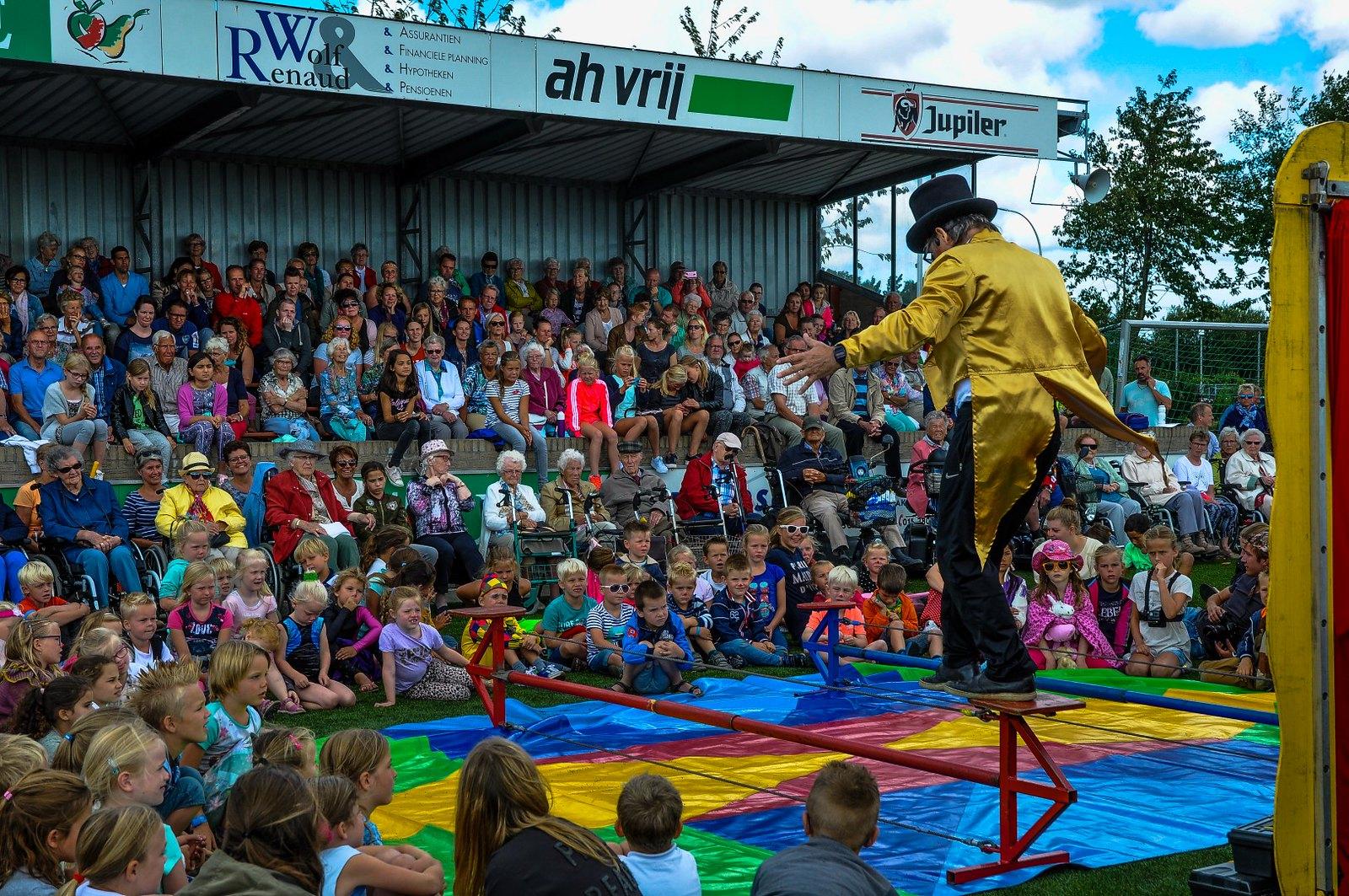 Cirque du Zomerfeest en bingo -35