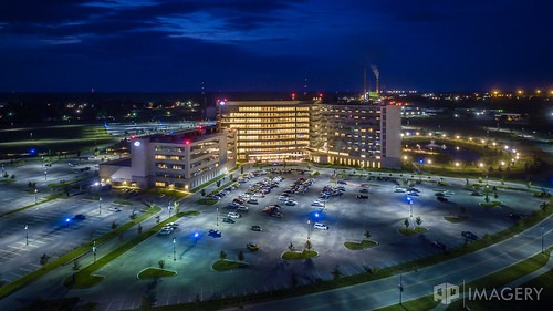 hospital ohrh omhs owensboro aerial architecture dji medicalhealthsystem night p3p phantom regionalhealth kentucky usa