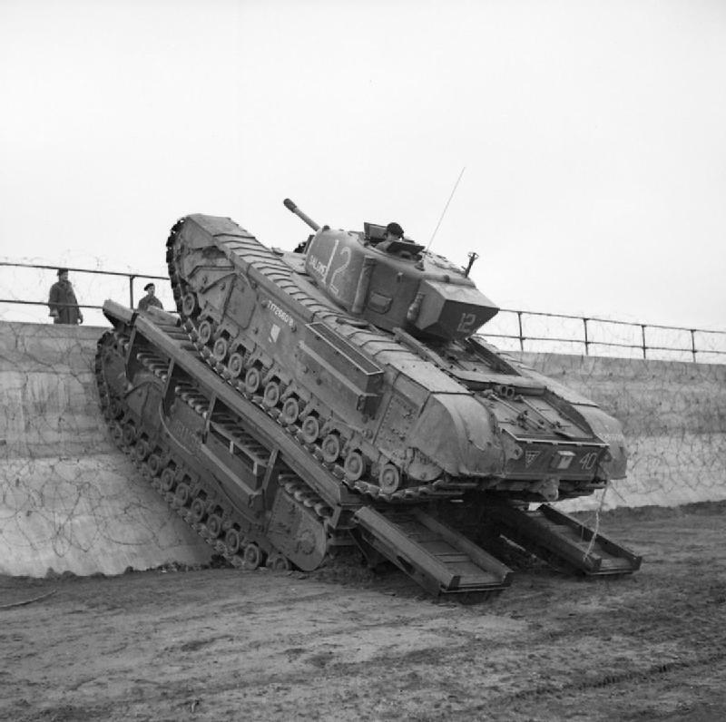 Tank, Infantry, Mk IV (A22)  - Churchil