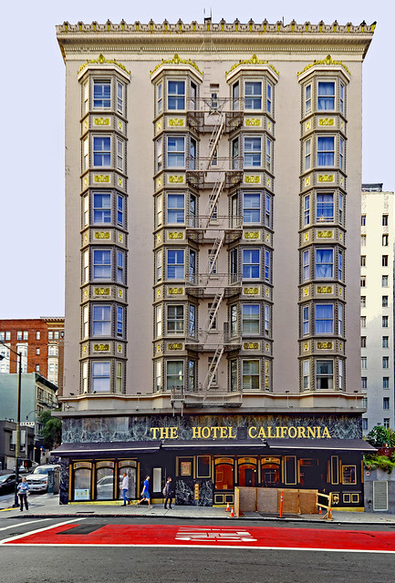 USA 2015. San Francisco. The Hotel California …