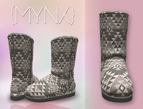 {MYNX} Bootie - Aztec Beige