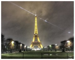 Iron lady by night #paris #eiffeltower #toureiffel