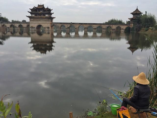 Pescador en China (¿Cómo conectarse a internet en China y saltarse la censura?)
