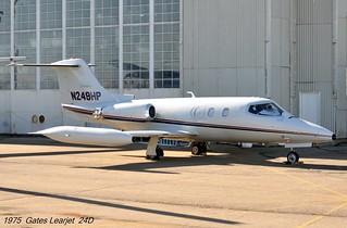 1975 Gates Learjet 24D