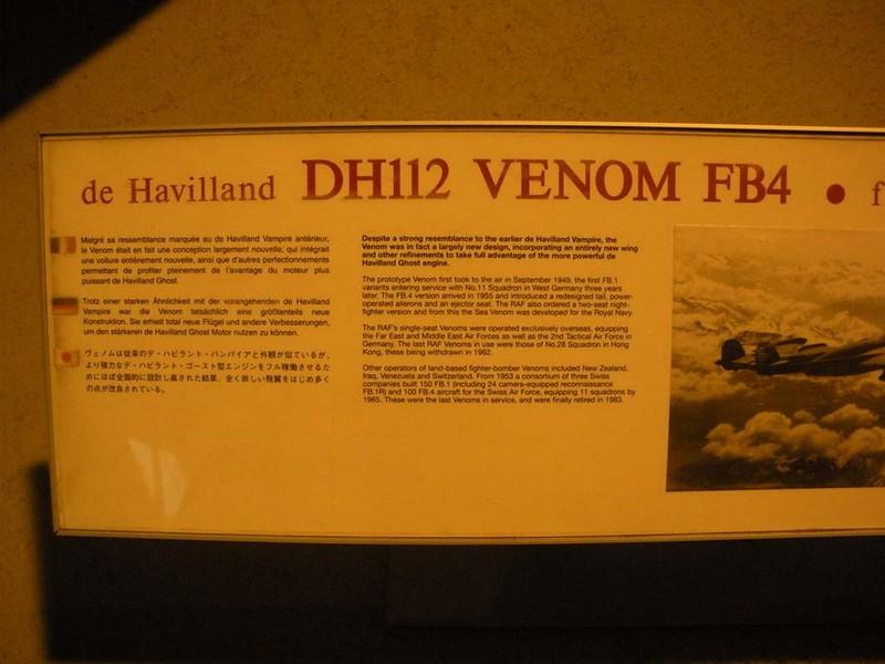 de Haviland DH112 Venom 1