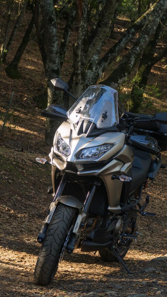 Exploring California with a Kawasaki Versys 1000