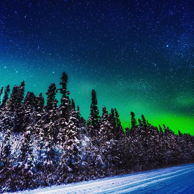 I drive just north of Fairbanks AK to shoot this. On my shortlist is a trip to Iceland or perhaps Norway just to shoot some great Aurora shots.
