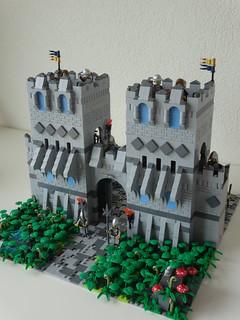Castle main entrance   by Lancelot018