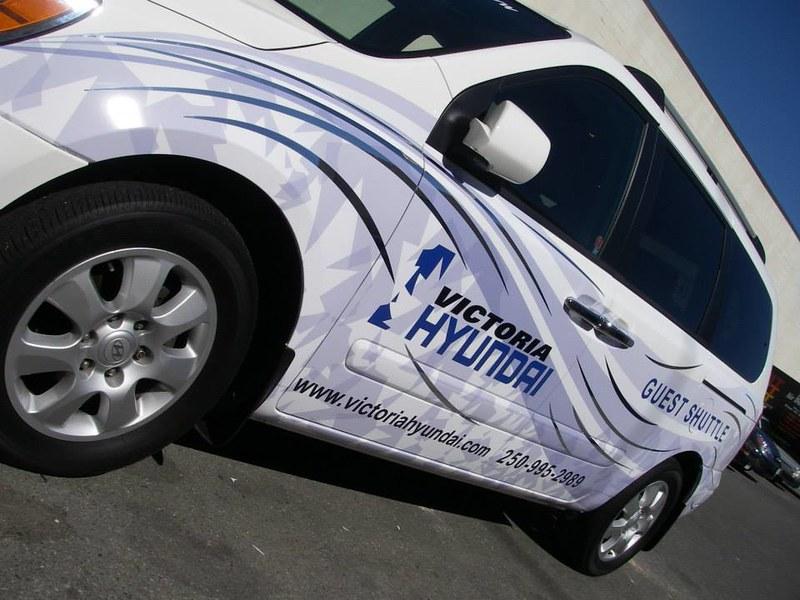 Victoria Hyundai shuttle