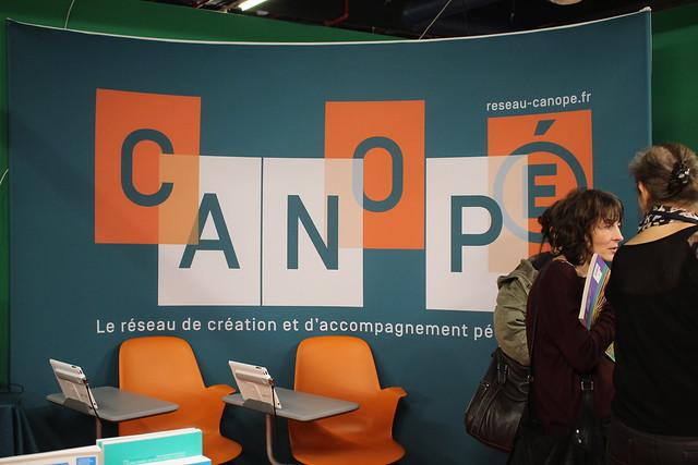 Canopé - Salon du Livre et de la Presse Jeunesse (SLPJ) - Montreuil