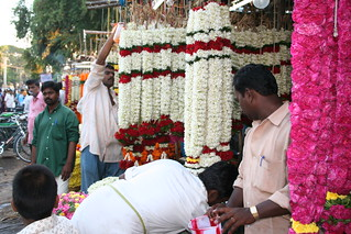 flower-market coimbatore Tamil Nadu South India