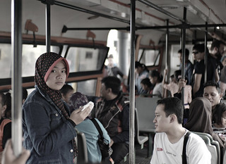 On the mini train