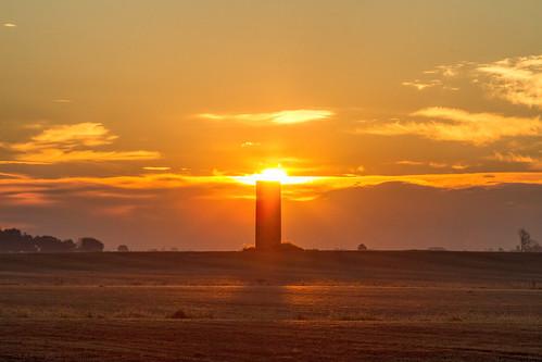 2016 canon eos7d illinois midwest november clouds fog sunrise weather field saintjacob unitedstates us