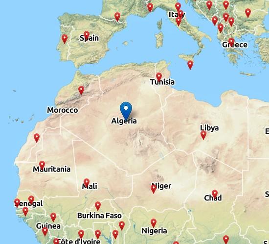 Alzirsko Mapa Alzirsko Mapa Vintage Printery Flickr
