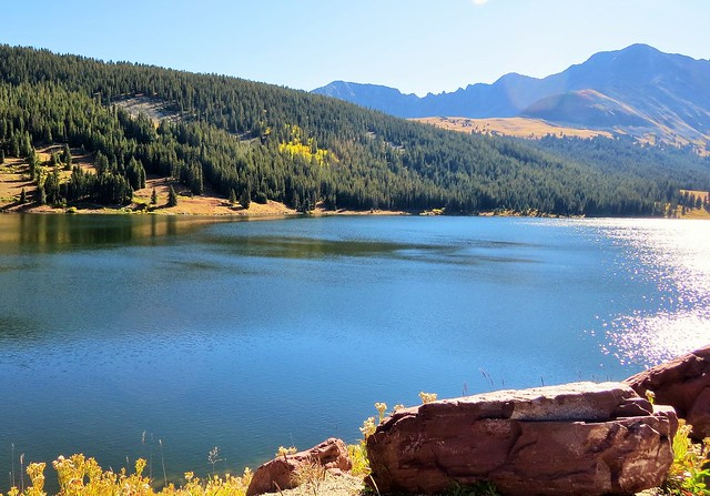 Mountain Lake Near Fremont Pass