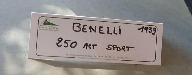 Benelli 250 ACT Sport 1939 -  Panasonic DMC-FZ200  21975057081_4ff19d8ccf_z
