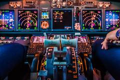 Inflight Boeing 737