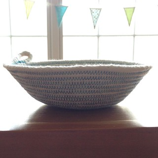 My attempt at a rope bowl. And my November #alyof goal complete.