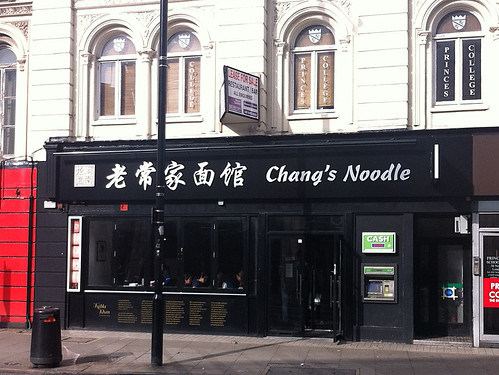 Chang's Noodle, Bloomsbury, London WC1 | by Kake .