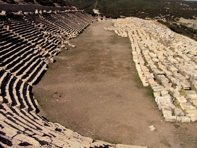 The most impressive Roman stadium I've seen; previously that honor went to the stadium at Aphrodisias by bryandkeith on flickr