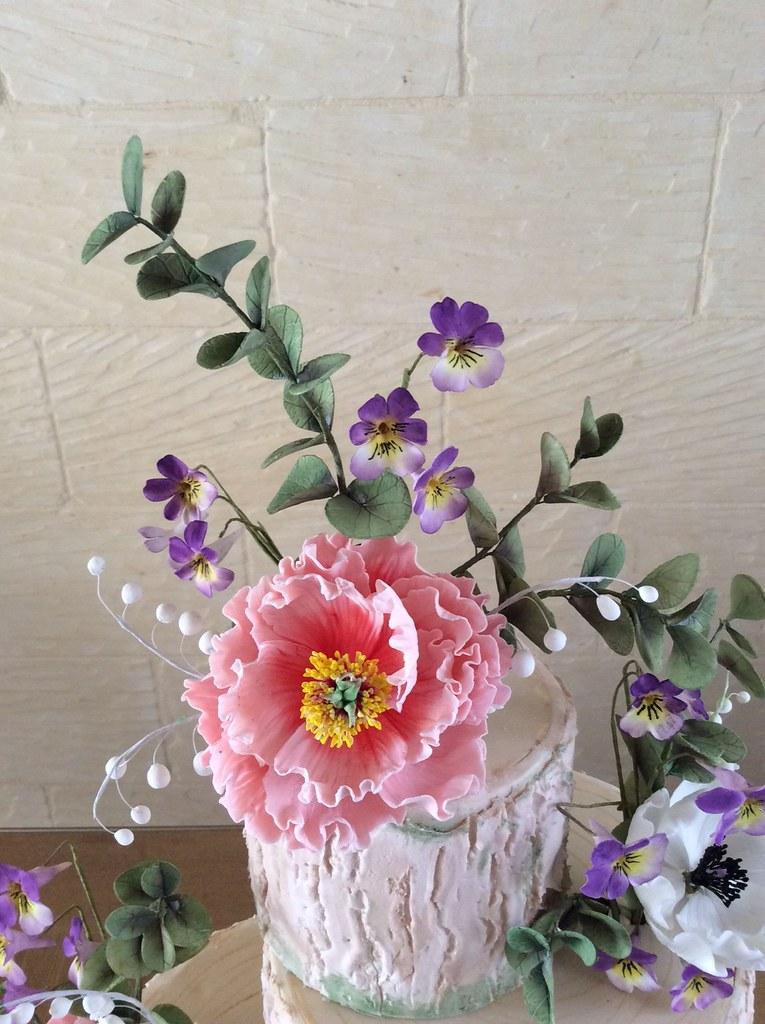 Img 7600 Rustic Wedding Cake In Sugarpaste And Royal Icing Flickr