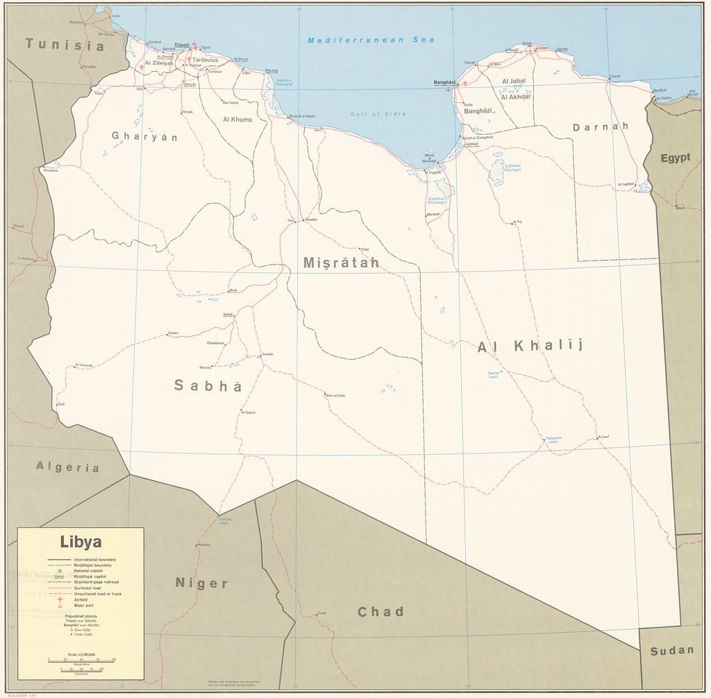 1974 Libya | Central Intelligence Agency | Flickr
