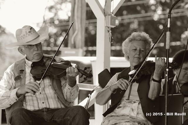 fiddling performers