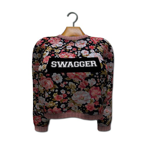 {MYNX} Cropped Sweater - Swagger