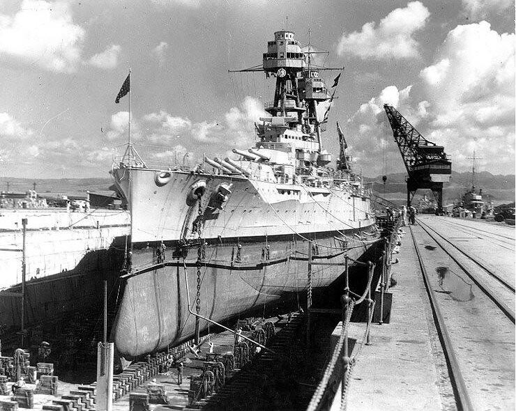 Броненосецът USS Nevada