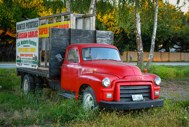 J.S. Nature Farms - GMC 9500 Flatbed Truck