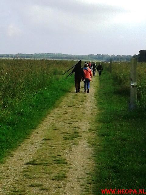 2015-10-09 Test wandeling 26 Km Oostvaarders  (27)