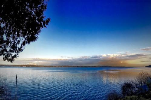 sunset shoreline pugetsound washingtonstate vashonisland iphone project365 348365 iphoneography