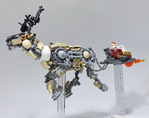 LEGO Mech Reindeer-11