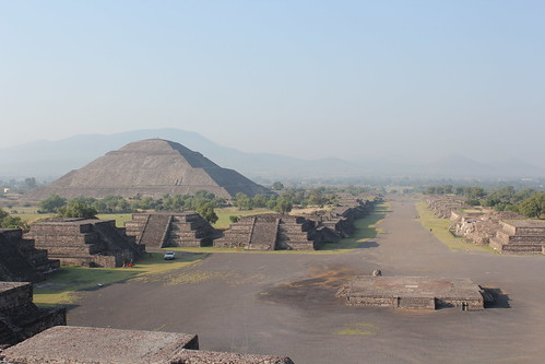 Teotihuacan, Pyramid of the Sun and Avenue of the Dead | by Arian Zwegers