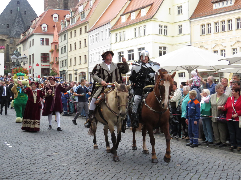 folks historical dressed at opening