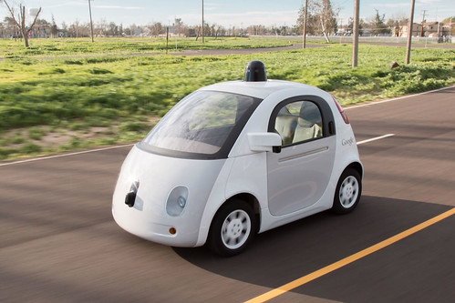 Google prototype self-driving car | by Marc van der Chijs
