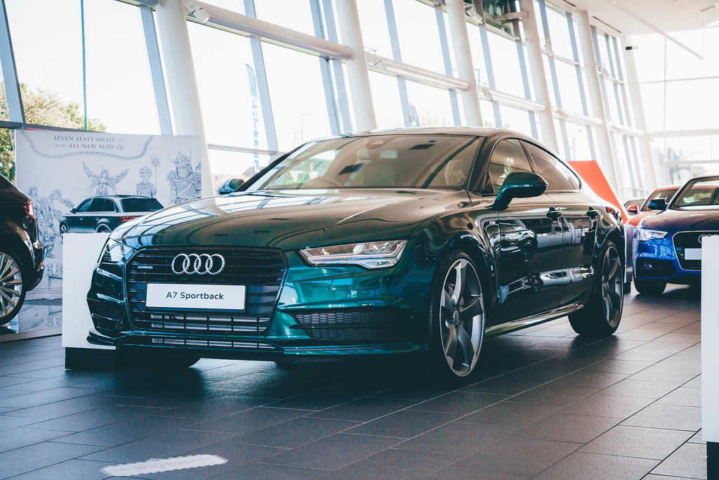 Merlin Green Audi A7 Listers Group Flickr