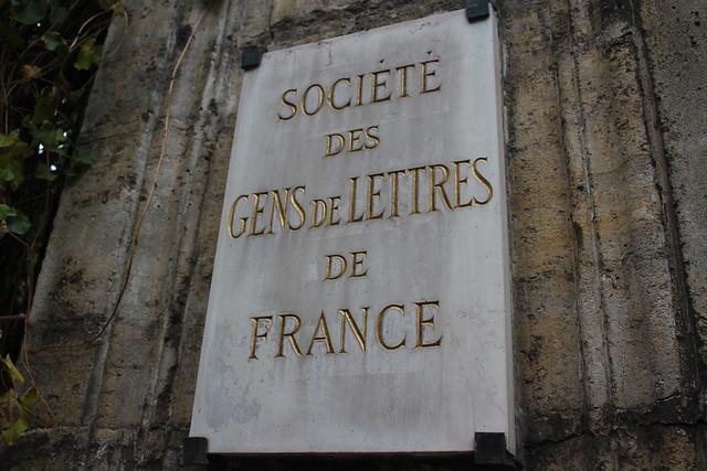 La SGDL (Société des Gens de Lettres de France)