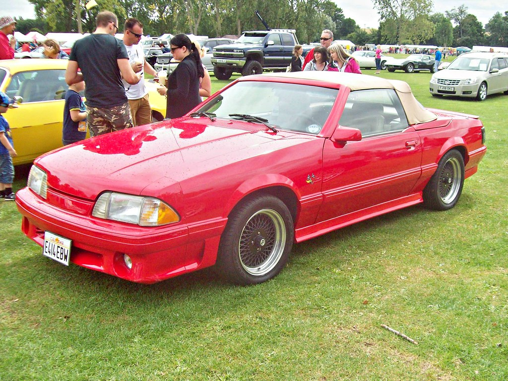 320 ford mustang 3rd gen convertible 1987 ford mustang flickr