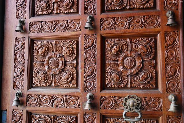 Victoria, porte d'entrée du temple hindou