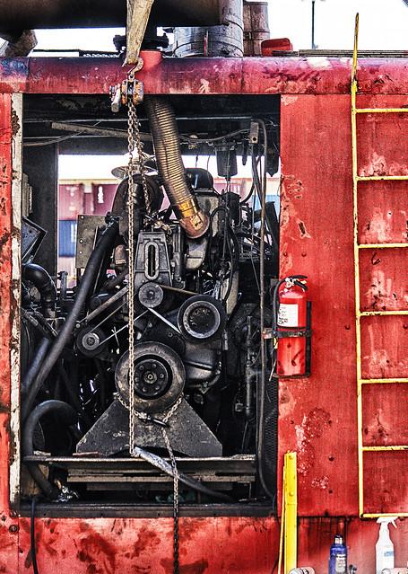 Engine Room; Heavy Crane