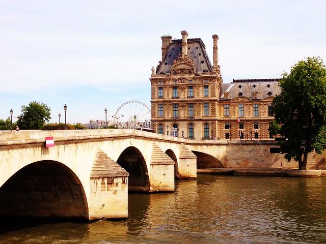 Pavillon de Flore et Pont Royal, Paris