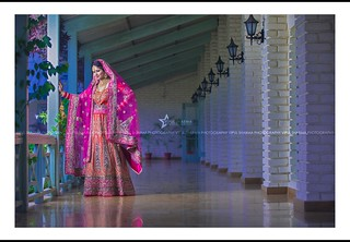 The beautiful bride is all set to embark on a new journey.