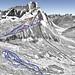 Mapa Cortina d´Ampezzo - Faloria