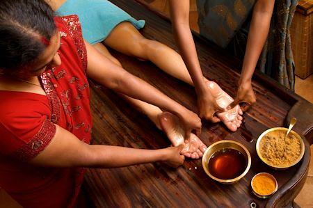Indian Foot Massage