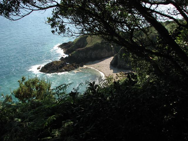 The coast east of Vicard