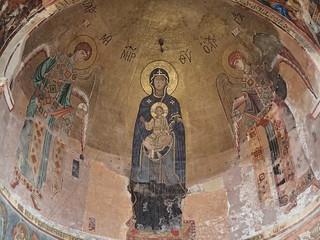 聖母子と大天使のモザイク画 | by tally1729