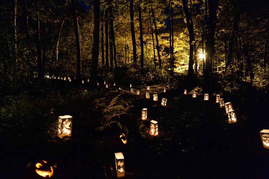 Garden in the Woods Night of Illumination