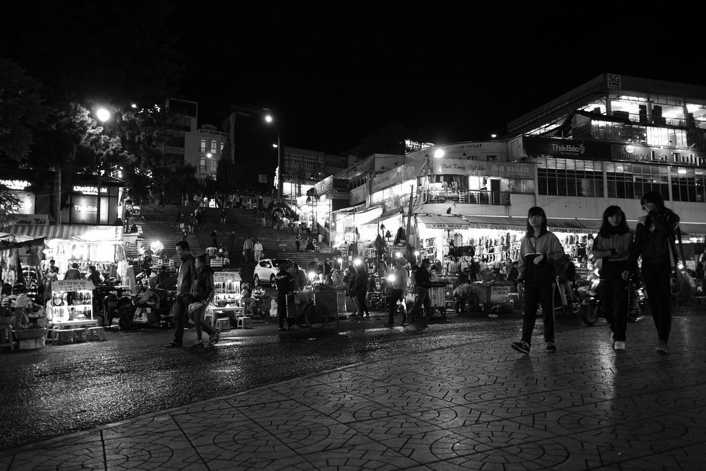 A Night in Dalat City, Vietnam