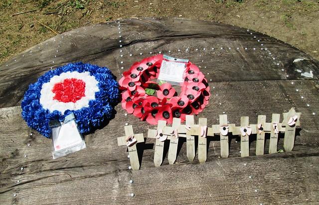 War memorial by Reigate Fort